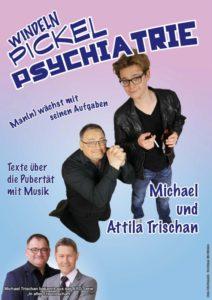 """Trischan und Sohn: """"Windeln, Pickel, Psychiatrie"""" @ Alte Synagoge"""