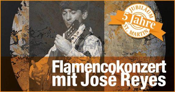 Flamencokonzert mit José Reyes @ Seniorenresidenz St. Martin Schweich