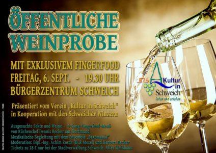 Wein, Kulinarik und Musik @ Bürgerzentrum Schweich
